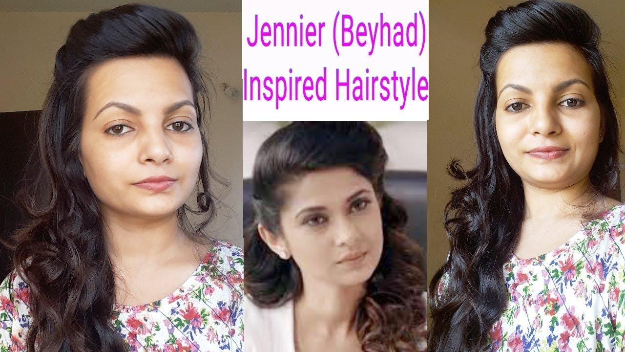 Beyhad Jennifer Winget Inspired Hairstyle Simple Craft Ideas Jennifer never fails to amaze us with her shocking. beyhad jennifer winget inspired