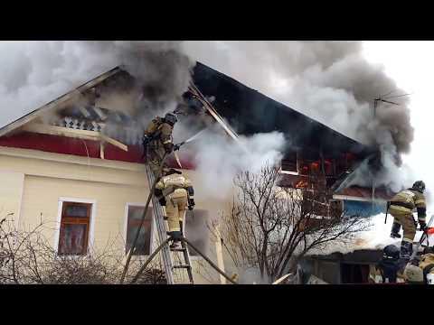 В Зеленодольске дымовой пожарный извещатель спас от гибели многодетную семью