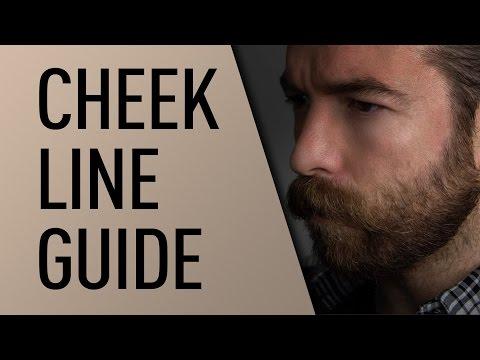 Beard ninja beard shaper guide for line up & edging transparent.