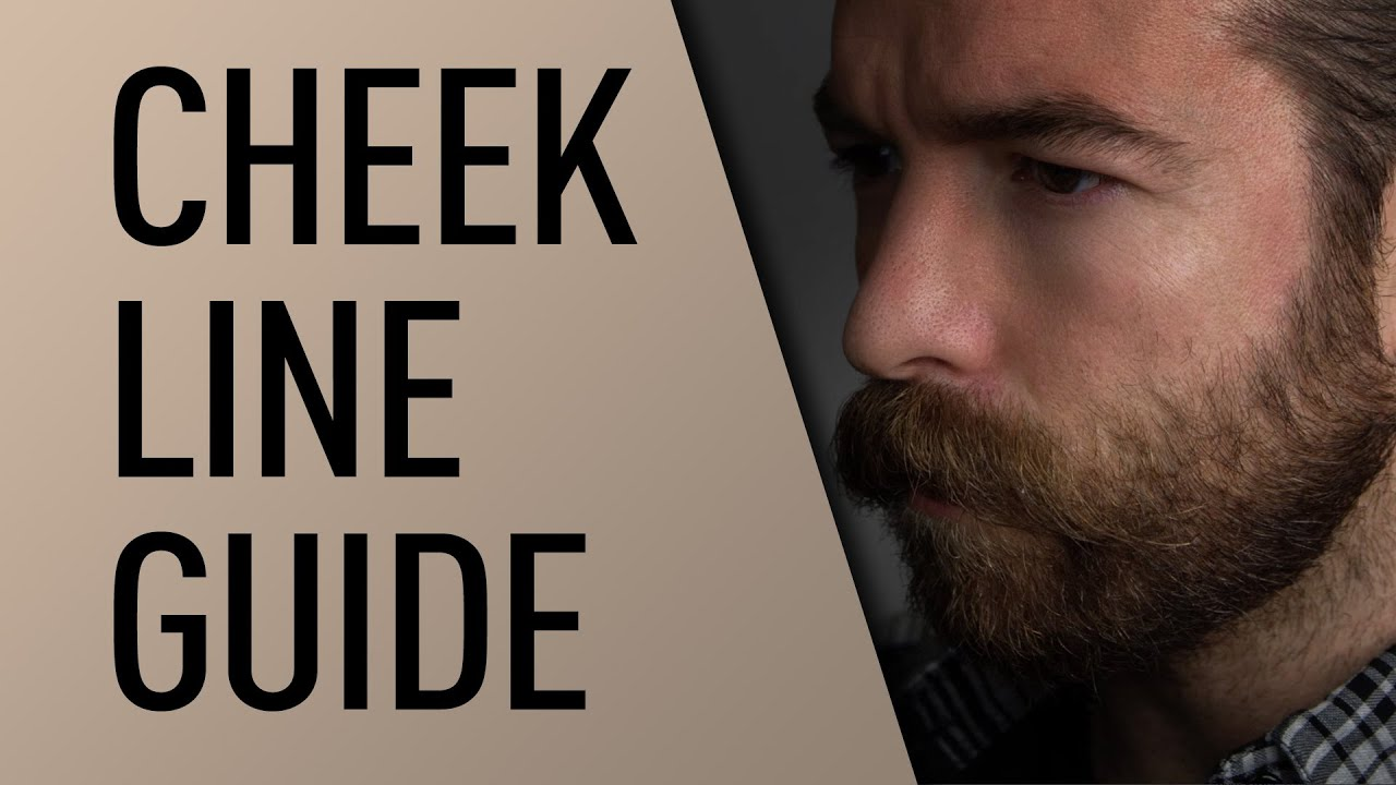 Beard Cheek Line Guide Jeff Buoncristiano Youtube
