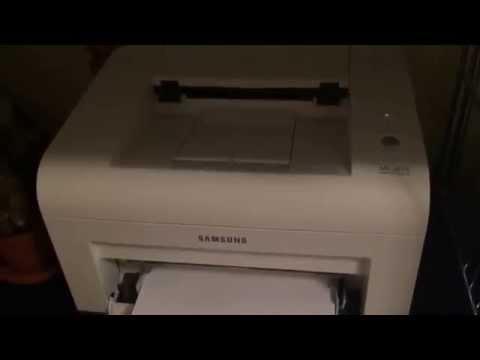 Samsung Ml-2015 чистка ролика захвата бумаги