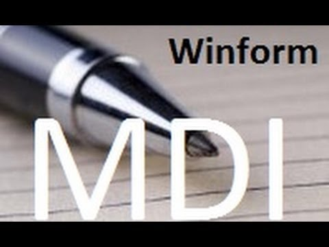 how to add a form to an mdi form