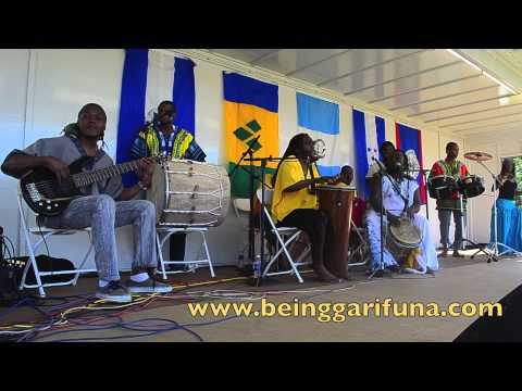 Garifuna Music at 2013 New Jersey Folk Festival at Rutgers University