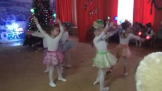 Танец звёздочек. Новый год в детском саду 19.12.2016