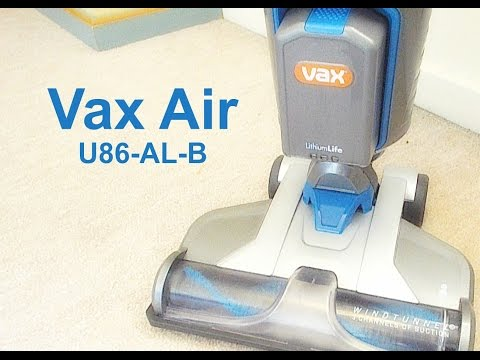 Vax Air U86-AL-B Cordless Bagless Vacuum Review