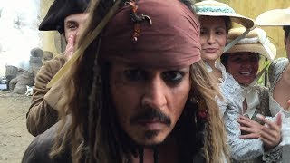WE WERE ON SET WITH JOHNNY DEPP | THE PERKINS