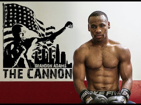 """BRANDON """"THE CANNON"""" ADAMS - Road to Redemption"""