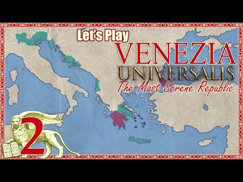 Let's Play Europa Universalis 4 [E02] Expanding Albania Veneta