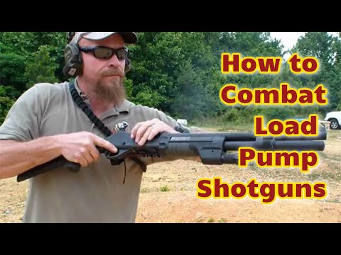 cleaning a pump action shotgun instructions
