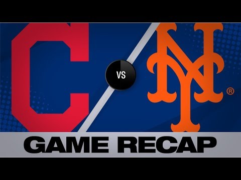 Maria - Indians Lose Opening Interleague Game To Mets At Citi Field