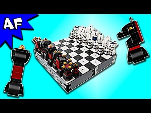 Lego CHESS Game 40174 Gameplay & Speed Build