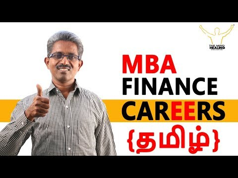 (Tamil) CAREERS IN MBA FINANCE – BBM, Business Schools,Top Recruiters,Salary Package