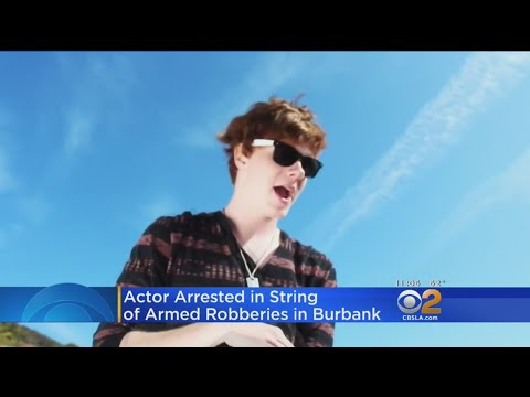 Disney Star, Actress Arrested In String Of Armed Robberies