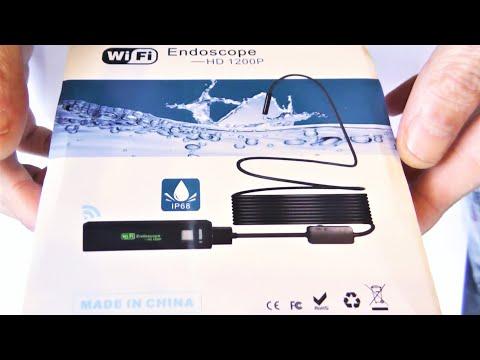 Wifi эндоскоп для Iphone, Android, PC, IOS APP, сравнение, тест и потребление