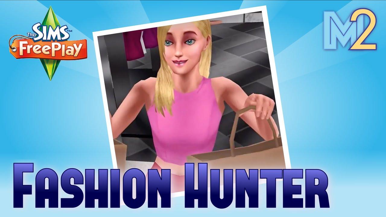 Sims Freeplay Fashion Hunter Hobby Cinema Tutorial Walkthrough Youtube