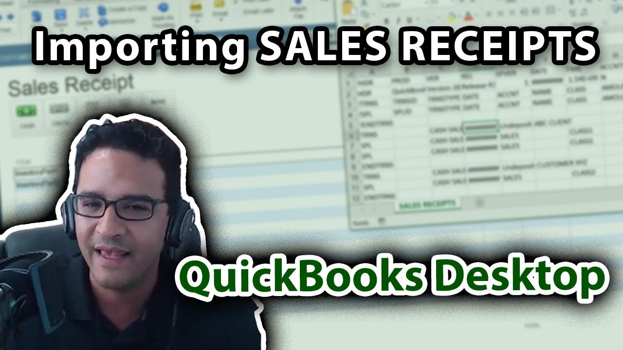 Importing Sales Receipts into QuickBooks Desktop (Using TPI Importer vs   using an IIF File)