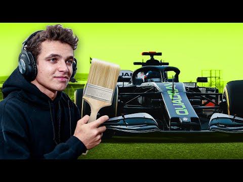 Lando Norris Designs a Quadrant F1 Car! (ft. Tommo)