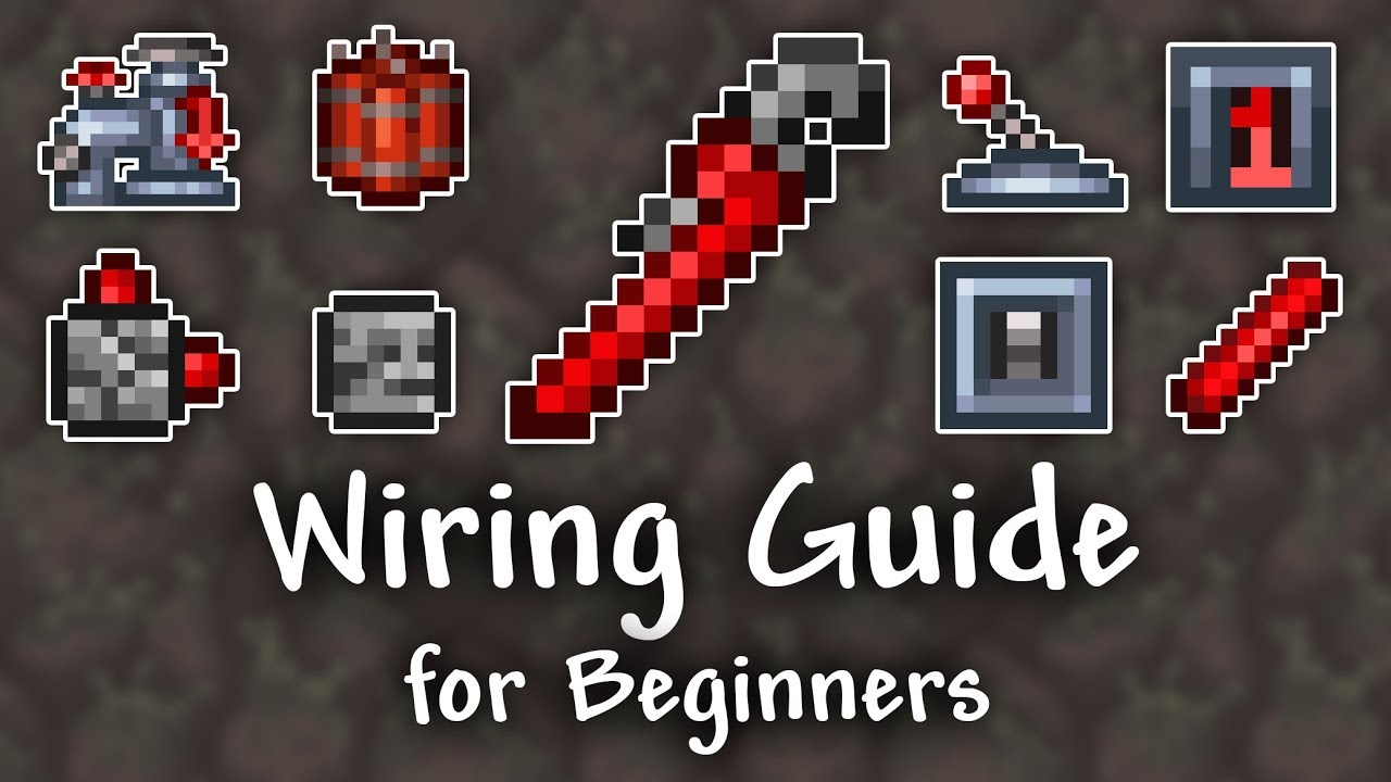 Wiring Guide for Beginners - Terraria 1.3.5 - YouTube