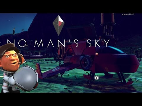 No Man's Sky | Toxic Planet - Repairing Ship - Learning new Word | part 1 | Let's Play - Gameplay