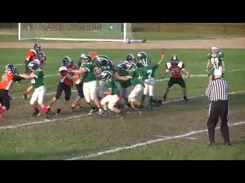 Toby Murphy 2014 Modified Football Highlights
