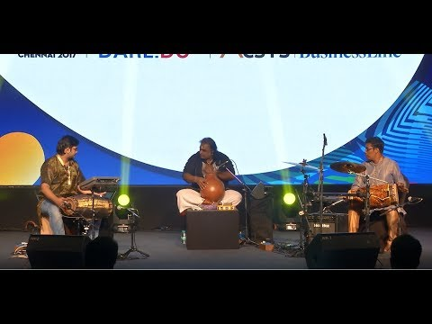 Ghatam Karthick's RASIKAPRIYA Piece EARTH-ETHNIC-ELECTRONICS - EEE Concert for TIECON Conference
