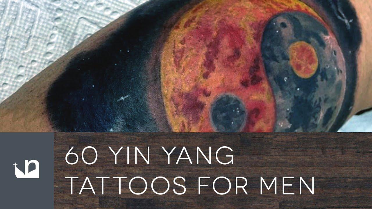 60 yin yang tattoos for men youtube. Black Bedroom Furniture Sets. Home Design Ideas