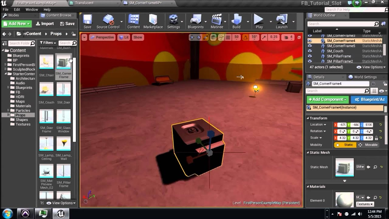 PTV Unreal Engine 4 Material Tutorial 9 (Multiple Fades)