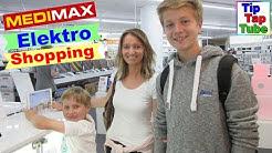 Shoppen bei MediMax in Kiel, Max neuer Computer oder eine Powerbank TipTapTube Kinderkanal
