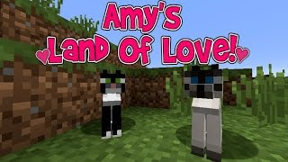 Amy's Land Of Love! Ep.119 A New Feline Friend! | Minecraft | Amy Lee33
