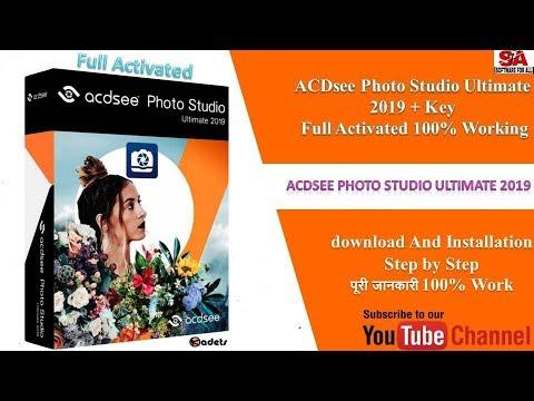 ACDSee Photo Studio Ultimate 2019 Full 100% Working IN HINDI