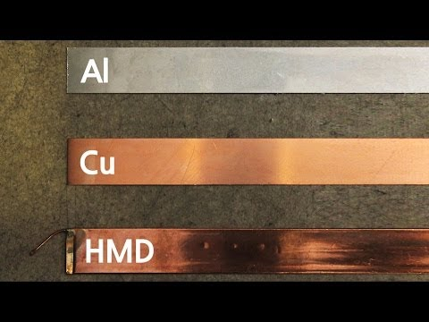 Thermal Conductivity Test : Al, Cu, HMD