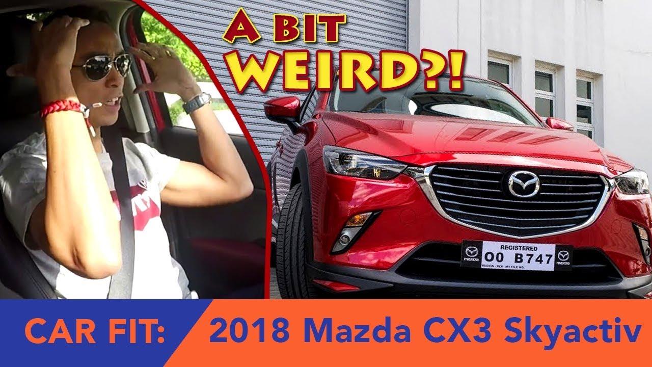 2018 Mazda CX3 Skyactiv AWD (Car Fit Review)