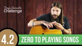 Beginner Guitar ➜ How to Play 12 Bar Blues Riffs (4.2)