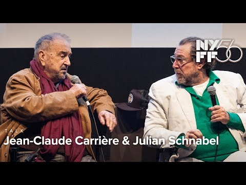 The Artistic Process with Jean-Claude Carrière & Julian Schnabel | NYFF56