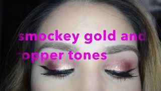 smokey gold and cranberry Thumbnail