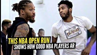 Derrick Jones Jr, Michael Beasley & Jeff Green GO AT IT at ELITE NBA Open Runs! Remy Runs Video