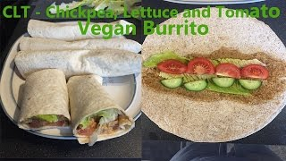 Clt - Chickpea, Lettuce And Tomato Vegan Burrito Recipe