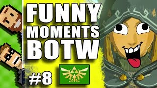Part 8: FUNNY MOMENTS! Dragon Rides, Frozen Enemies, MORE!   Breath of the Wild   The Basement