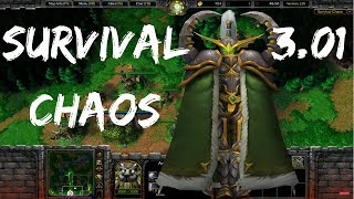 Warcraft 3 | Survival Chaos - Illidan Will Be Mine! | WarBoss