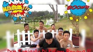 DUO SERIGALA DI KOLAM RENANG !! ll Cara2 Melompat Di Kolam Renang