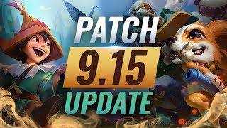 NEW UPDATE: Best Champions TIER LIST – League of Legends Patch 9.15