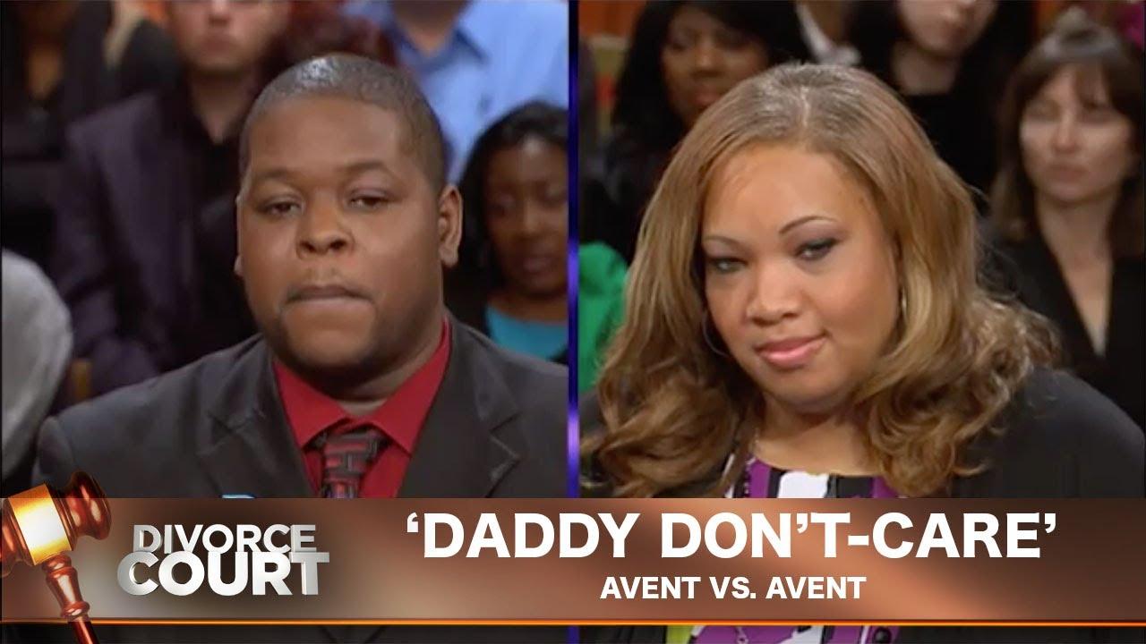 Vintage Divorce Court- Avent Vs. Avent: Daddy Don't-Care