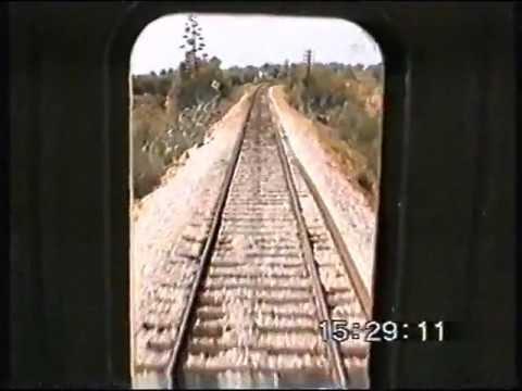 Ramal de Lagos 1996 em UTD 600 - Lagos Line (now part of Algarve line)