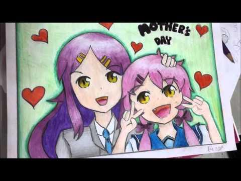 ผลการประกวดวาดภาพครั้งที่ 2 การ์ตูนญี่ปุ่นหัวข้อ แม่ๆ ใน Facebook