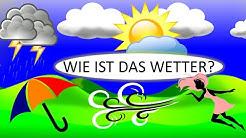 Das Wetter & Wettervorhersage | Deutsch lernen| The weather in German