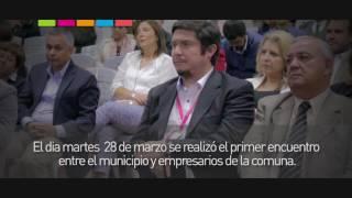Alcalde de Macul se reune con empresarios de la comuna