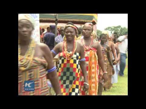 Ghana marks time-honored Kente fabric