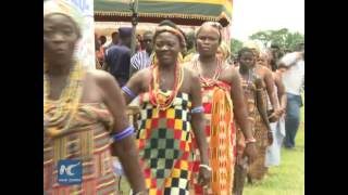 Ghana marks time-honored Kente fabric