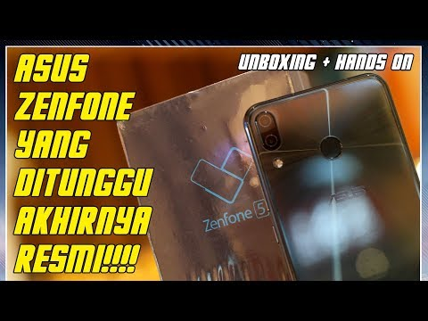 Zenfone Yang Paling Ditunggu Telah Tiba! Unboxing Asus Zenfone 5 ZE620KL Indonesia