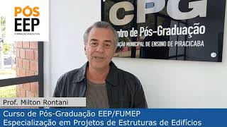 PÓS EEP - PROJETOS DE ESTRUTURAS DE EDIFÍCIOS